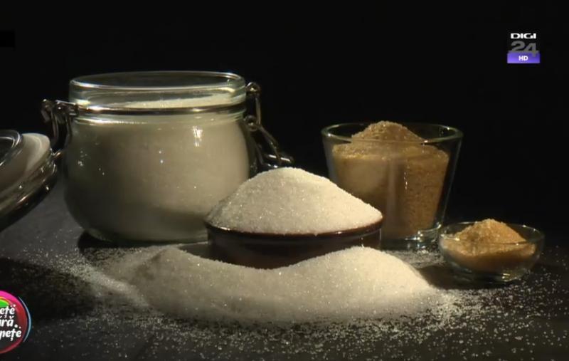 ÎN TOP: Românii, cei mai mari consumatori de zahăr din Europa