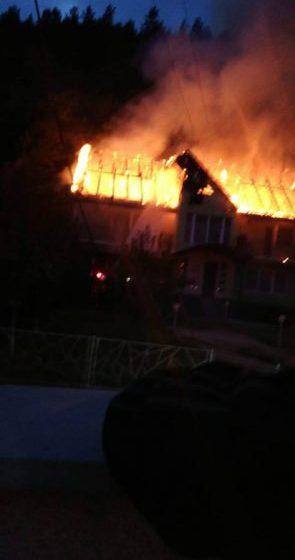 INCENDIU BUCIUMI: Flăcările au distrus bunuri în valoare de aproximativ 90.000 lei