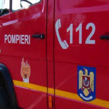 Trei intervenții pentru pompierii maramureșeni. Una dintre ele – un accident mortal
