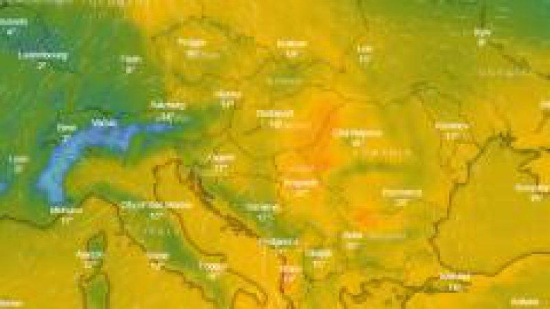 METEO: Un val de aer cald ajunge în România în zilele următoare și va aduce temperaturi de vară