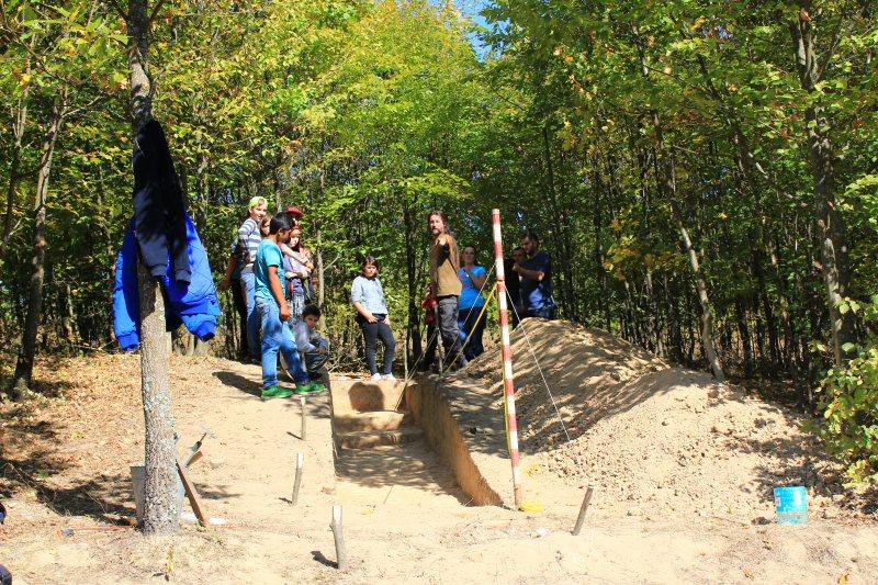 MUZEU: Vizită pe şantierul arheologic