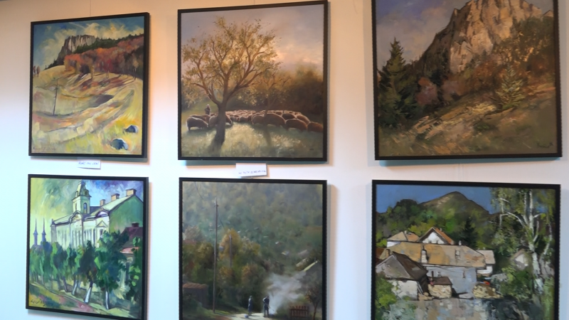 REPORTAJUL ZILEI: Expoziție internațională, cu lucrările a zeci de pictori