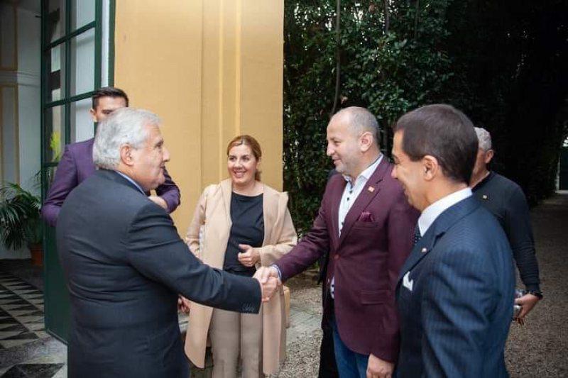 SEMN DE PREȚUIRE: Vicepreședintele CJ, primit în Italia într-un cadru care se deschide doar la ocazii speciale