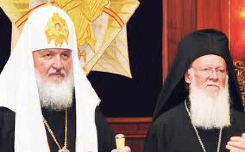 DECIZIE: Patriarhia Rusiei suspendă relaţiile cu Patriarhia Ecumenică, din cauza situaţiei Bisericii Ortodoxe din Ucraina
