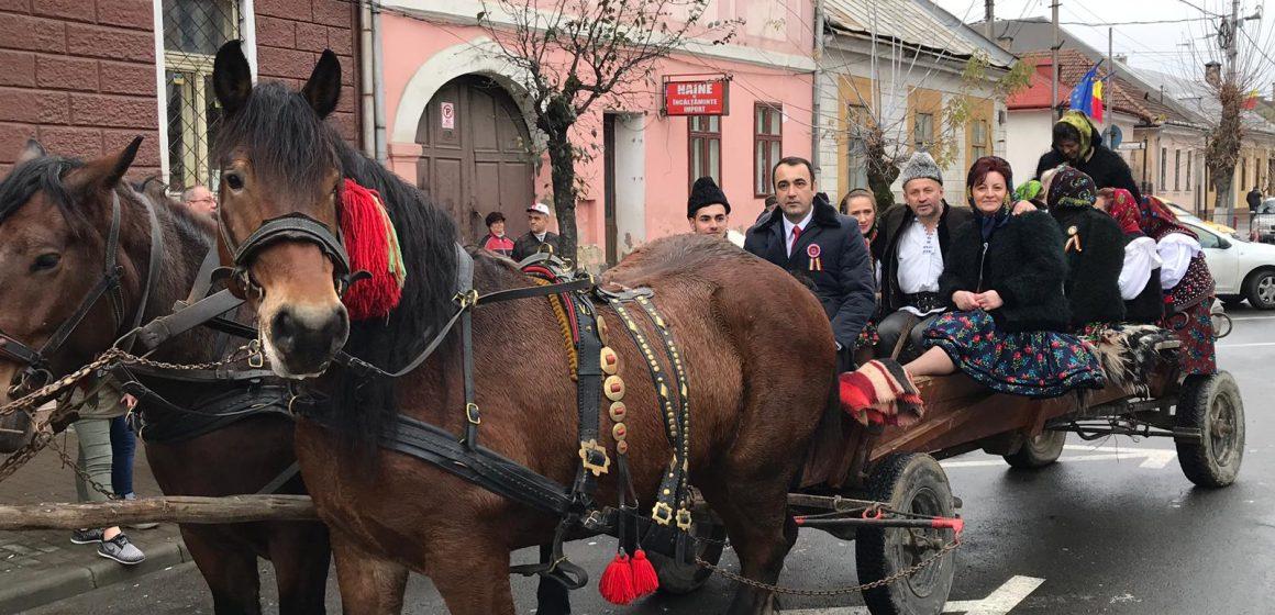 """""""Convoiul Unirii"""" pornit din Sighet a ajuns în judeţul Cluj"""