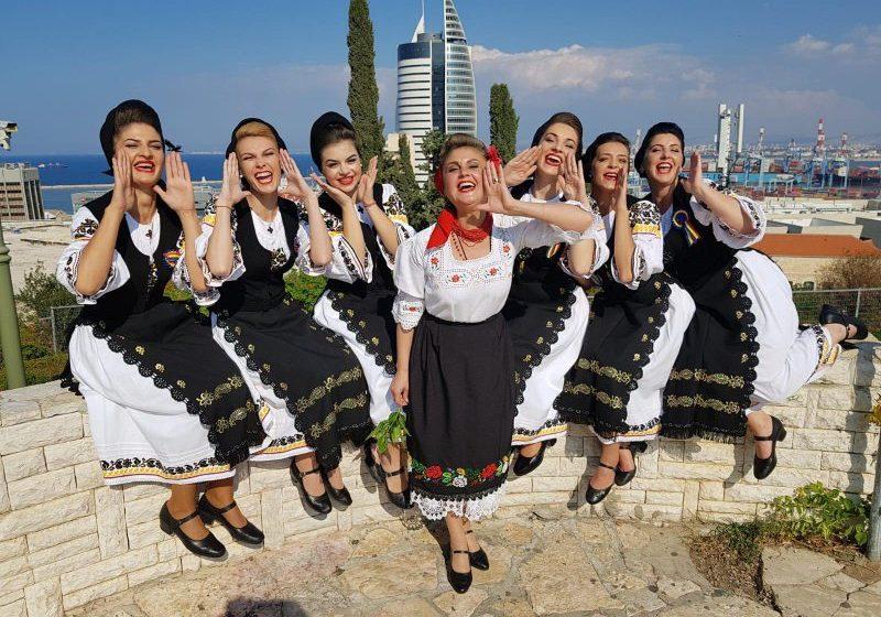 SPECIAL: Ansamblul Transilvania, alături de românii din Israel