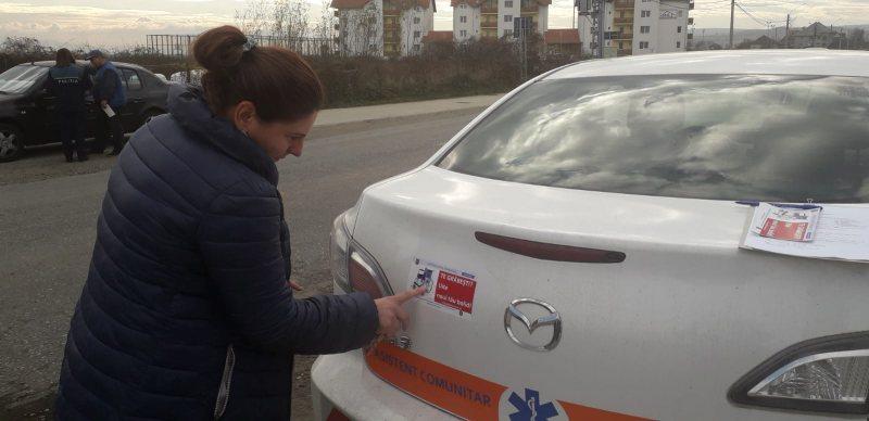 PENTRU SIGURANȚĂ PE ȘOSELE: Campanie de prevenire a accidentelor rutiere