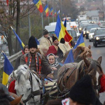 Convoiul Unirii a ajuns la Turda