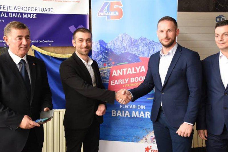 DIN IUNIE 2019: O nouă cursă charter Baia Mare – Antalya și retur, prin Agenția Paralela 45