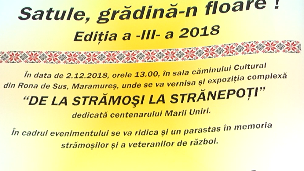Festival de tradiții strămoșești interetnice la Rona de Sus