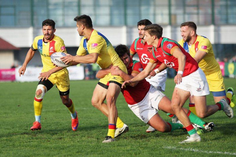ERA DE AȘTEPTAT: România rămâne în primul eșalon al Rugby Europe după barajul de pe Arena Zimbrilor cu Portugalia