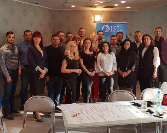ANTRENAMENT POLITIC: Tineri de la ALDE la Academia de comunicare