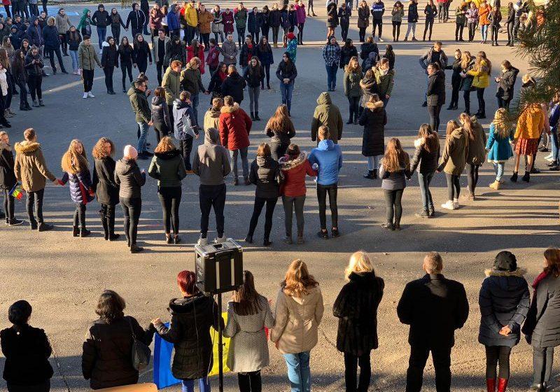 CENTENAR: Promovare a interculturalitații, a diversității și a sentimentului național la Liceul Tehnologic Marmația