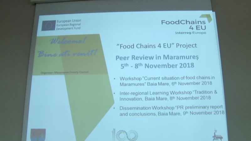 """FOOD CHAINS 4 EUROPE: Oportunități pentru """"Bun de Maramureș"""""""