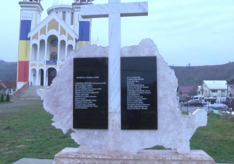 IN MEMORIAM: Monument dedicat eroilor comunei Ieud