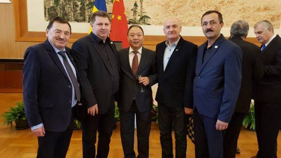 Trei maramureșeni, invitați la Ambasada Republicii Populare Chineze la București
