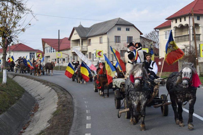 """PROIECT SPECIAL ÎN ANUL CENTENARULUI: """"Convoiul Unirii"""" a ajuns în județul Cluj"""