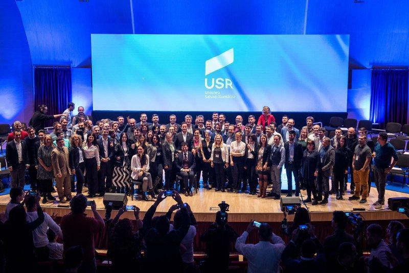 VOT TRANSPARENT: USR și-a ales candidații la alegerile europarlamentare din mai 2019