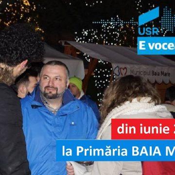 VIDEO | USR Maramures anunță candidatul la Primăria Baia Mare – Dan Ivan, președintele USR Maramureș