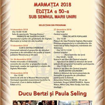 Programul Festivalului Datinilor de Iarnă Marmația
