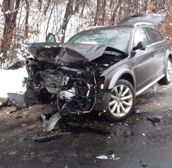 Accident mortal pe DN 18B, spre Dumbrăvița