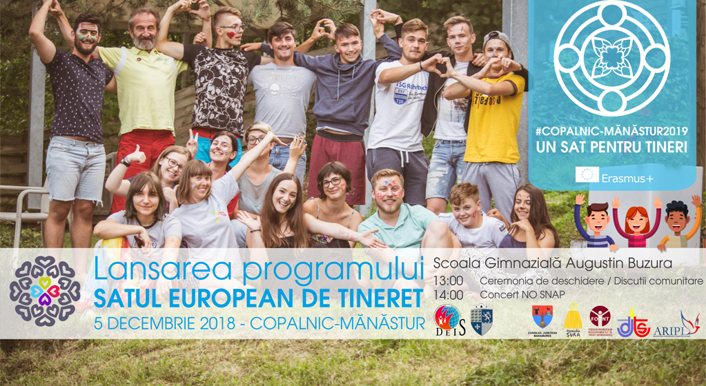 Comuna Copalnic Mănăştur – sat european de tineret