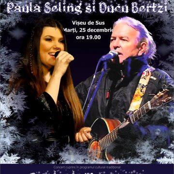 Paula Seling și Ducu Bertzi colindă Maramureșul