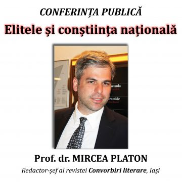 """Joi, la Biblioteca Județeană, conferință despre """"Elitele şi conştiinţa naţională"""""""