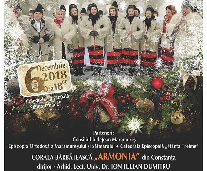 Concert de colinde la Catedrala Episcopală din Baia Mare