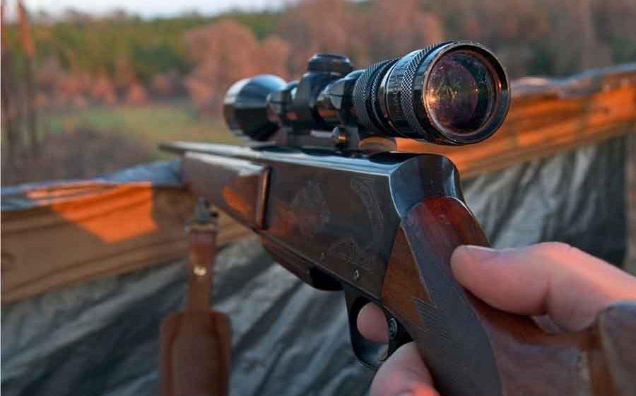 Video|Prinși cu flinta de vânătoare fără să fie deținători legali de arme