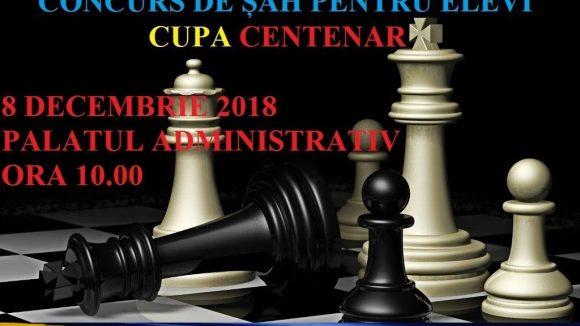 """Concurs de șah """"Cupa Centenar"""", la Palatul Administrativ din Baia Mare"""