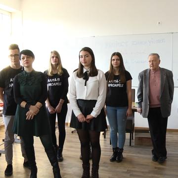 VIDEO | Elevi maramureșeni implicați în promovarea valorilor locale