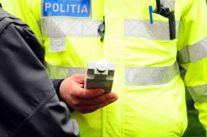 Șofer care a accidentat o femeie și a părăsit locul faptei, identificat în mai puțin de o ora de politiști