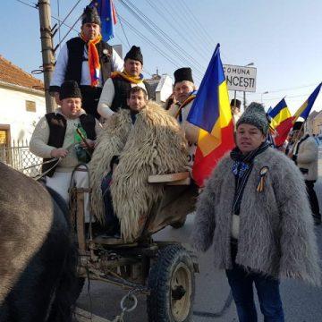 """FINAL: """"Convoiul Unirii"""" a ajuns în 1 Decembrie la Alba Iulia"""