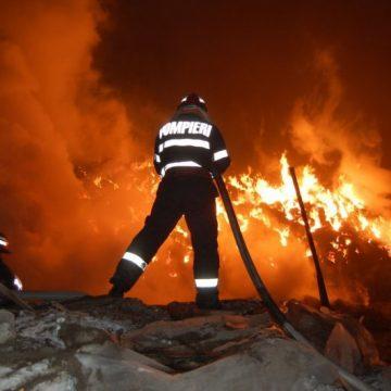 ZILE CU FOC: Ce intervenții au avut pompierii maramureșeni în ultima perioadă
