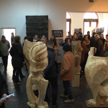 Video|Trei expoziții vernisate într-o singură zi la muzeu