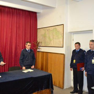 Jandarmi maramureșeni decorați cu Emblema de Onoare