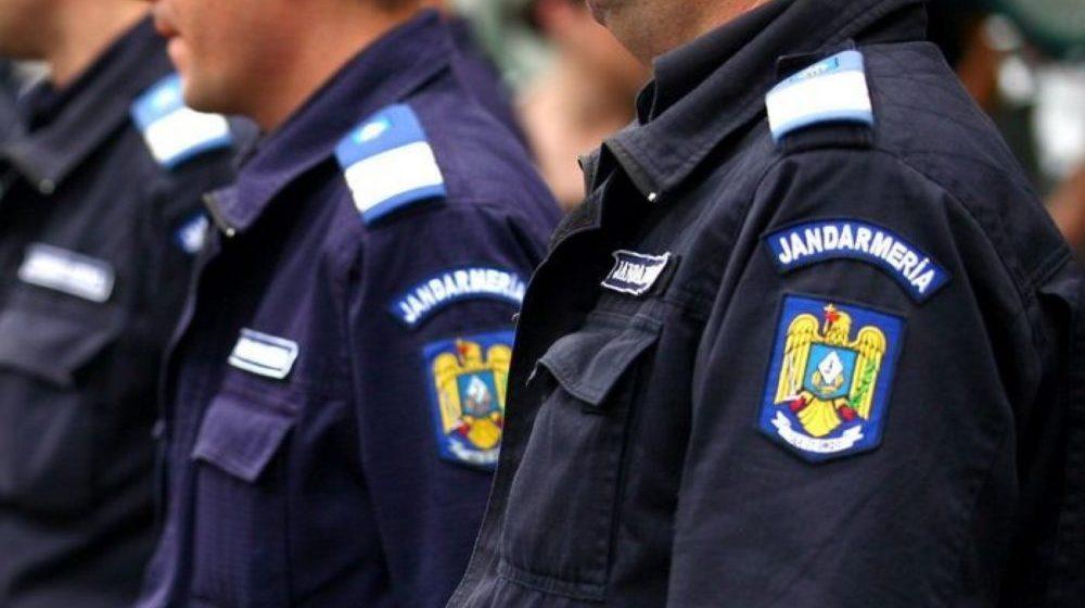 Jandarmii, de strajă ordinii publice de Anul Nou