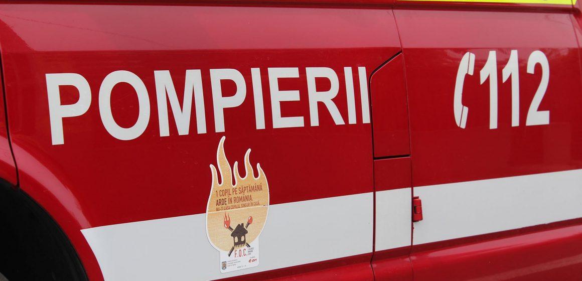 VIDEO | A ajuns la spital cu arsuri după ce i-a luat casa foc