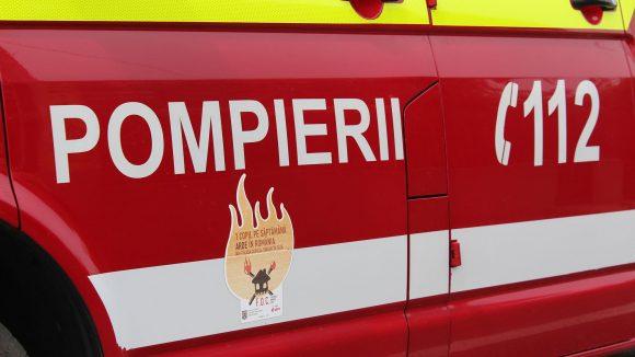 Ce intervenții au avut pompierii în ultimele zile