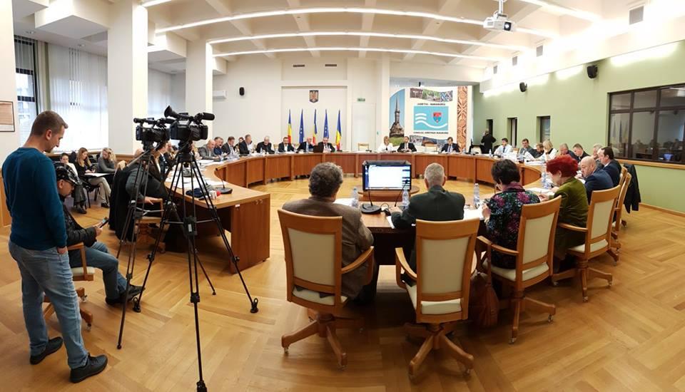 Consilierii județeni convocați azi în ședință extraordinară pentru 10 proiecte