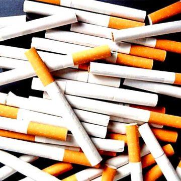 Prinși în tren cu țigări de contrabandă