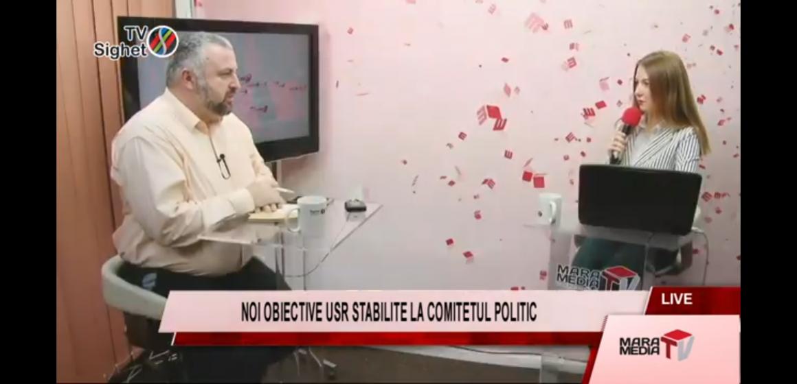 VIDEO | Actualitatea MaraMedia – Noi obiective USR stabilite la Comitetul Politic