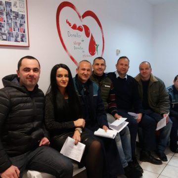 Poliţiştii Serviciului Rutier Maramureş au donat sânge