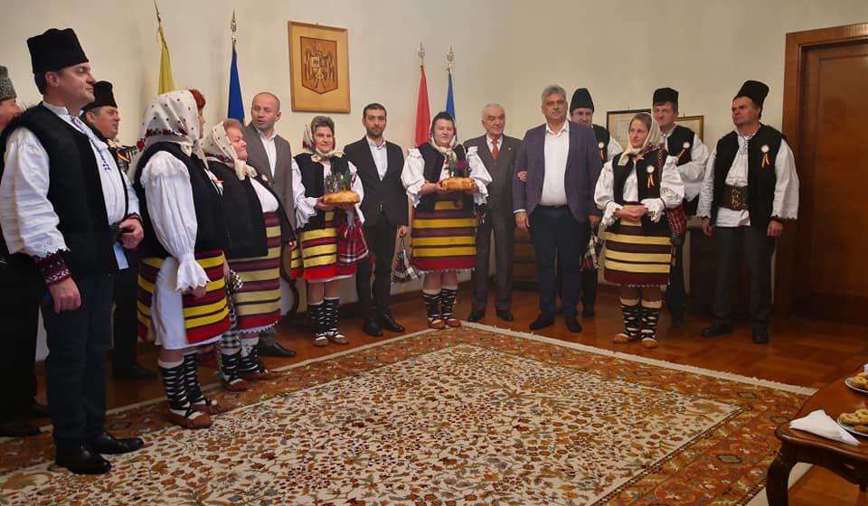 Reprezentanții Maramureșului și ai comunei Ieud, în vizită la Roma și la Ambasada României la Vatican
