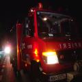 Incendiu la acoperişul unui bloc din Sighet
