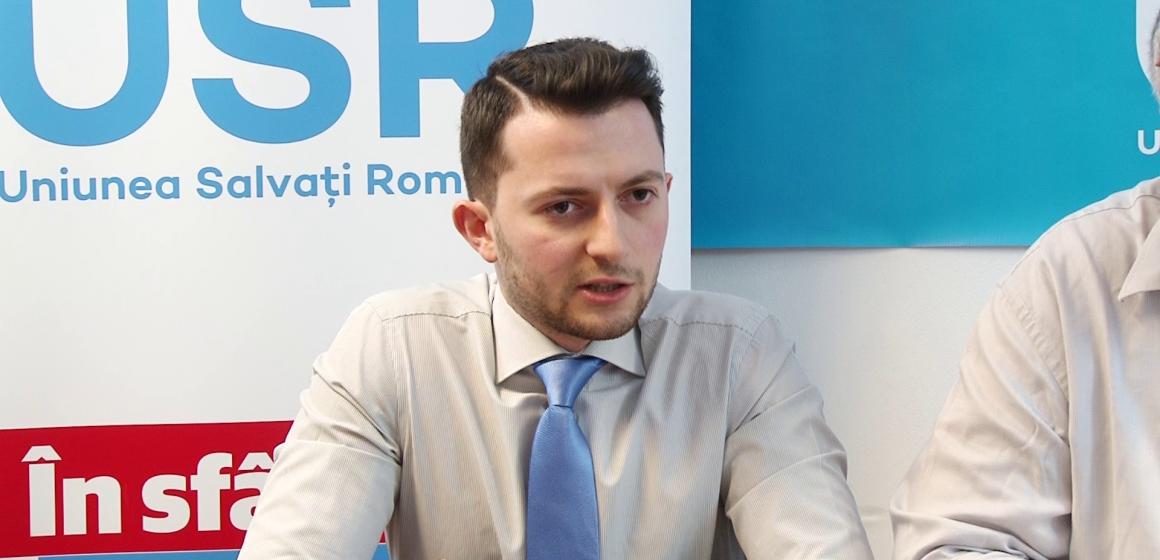 """VLAD DURUȘ (USR): """"De grija dosarelor lui Dragnea și Tăriceanu, PSD se substituie Parlamentului, încălcând Constituția"""""""