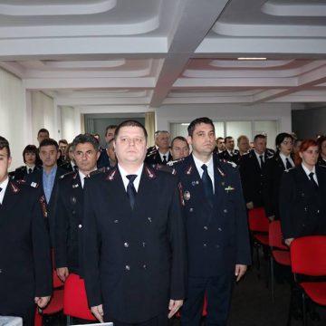 I.S.U. Maramureș a prezentat analiza activității autorităţilor şi colegilor din M.A.I.
