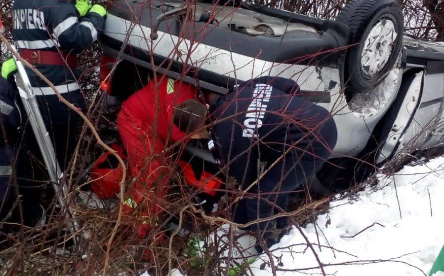 Accident grav, cu trei victime, la ieșirea din Ariniș spre Cehu Silvaniei