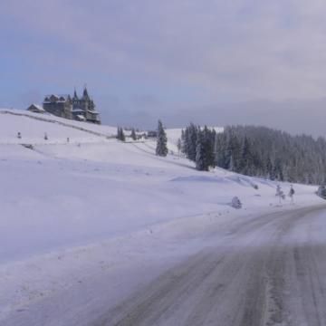 VIDEO | Circulatie rutiera in conditii de iarna